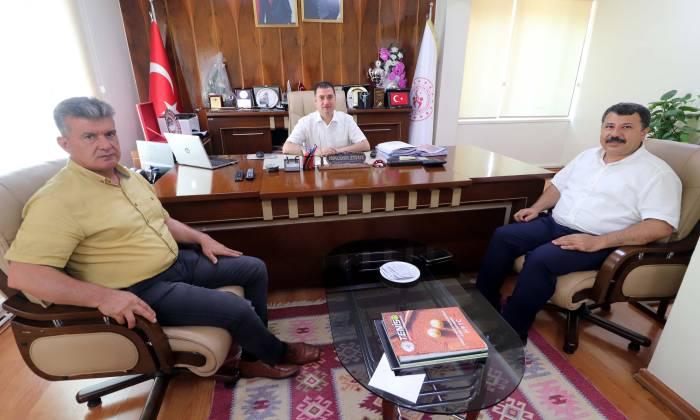 Başkan Tanrıöver'den Ataşbak'a Ziyaret