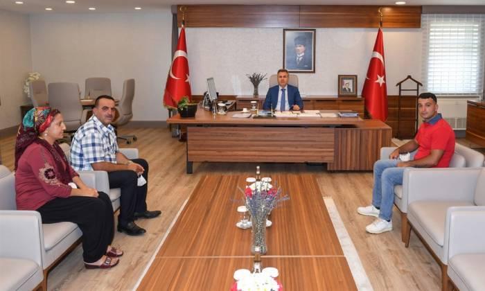Şehit Yakınlarından Vali Elban'a Ziyaret