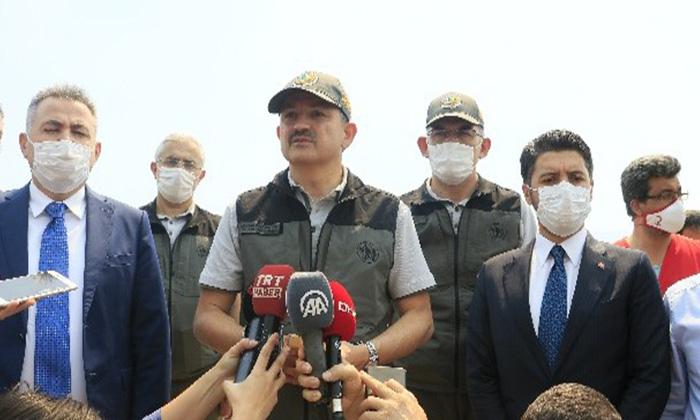Kozan'da Orman Yangını  Sürüyor