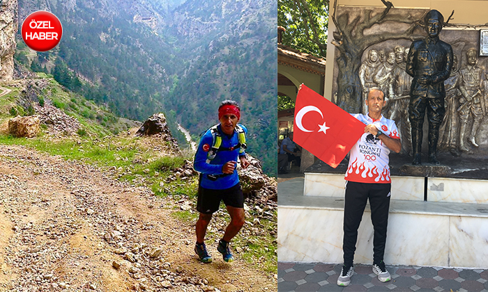 Adana'dan Pozantı'ya 100 Kilometre Koştu