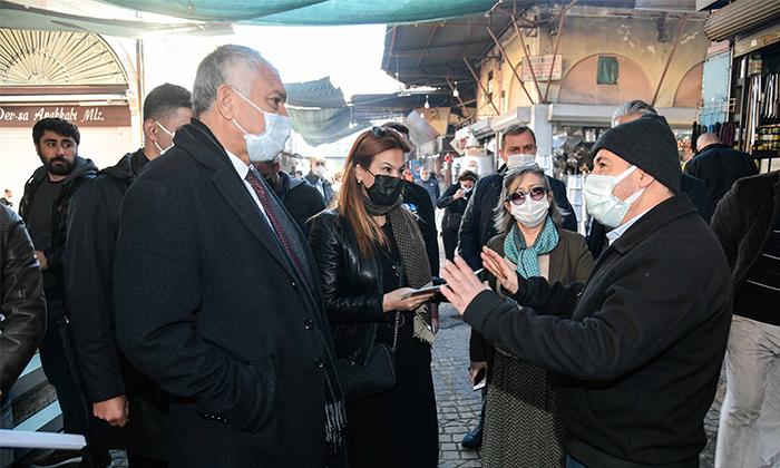 Tarihi Kültür ve Ticaret Aksı Turizme Kazandırılacak