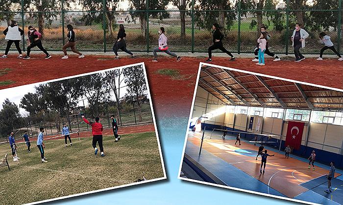 Karataş'ta Spor Tesislerine İlgi Arttı
